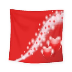 Background Banner Congratulation Square Tapestry (small)