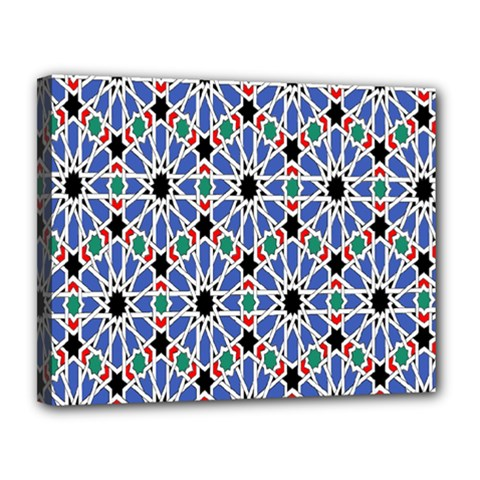 Background Pattern Geometric Canvas 14  X 11