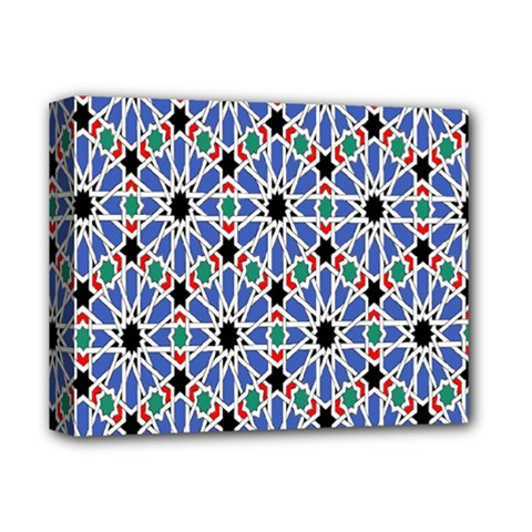 Background Pattern Geometric Deluxe Canvas 14  X 11