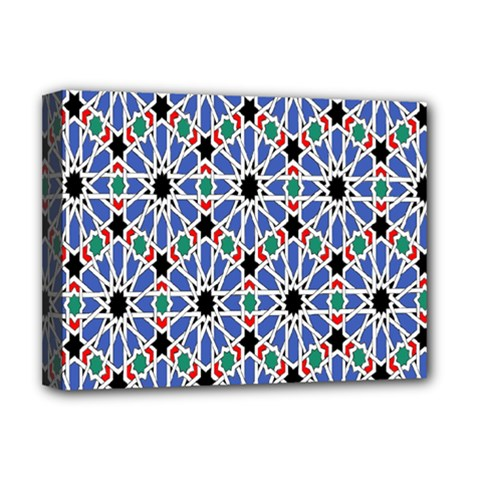 Background Pattern Geometric Deluxe Canvas 16  X 12