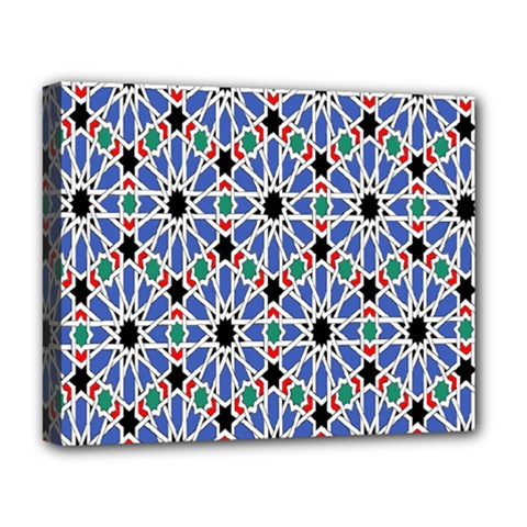 Background Pattern Geometric Deluxe Canvas 20  X 16