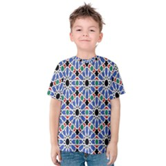 Background Pattern Geometric Kids  Cotton Tee