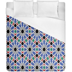 Background Pattern Geometric Duvet Cover (california King Size)