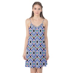 Background Pattern Geometric Camis Nightgown