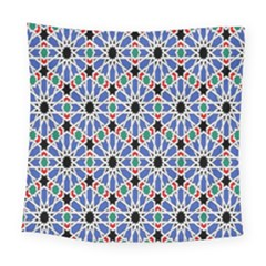 Background Pattern Geometric Square Tapestry (large)