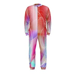 Background Nebulous Fog Rings Onepiece Jumpsuit (kids)