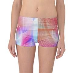 Background Nebulous Fog Rings Reversible Bikini Bottoms