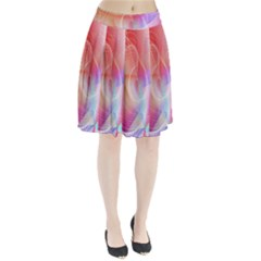 Background Nebulous Fog Rings Pleated Skirt