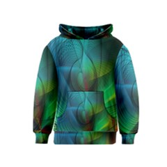 Background Nebulous Fog Rings Kids  Pullover Hoodie