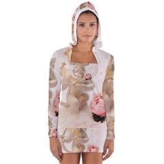 Cupid Women s Long Sleeve Hooded T-shirt