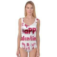 Happy Valentines Day Busy Princess Tank Leotard