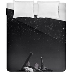 Frontline Midnight View Duvet Cover Double Side (california King Size)