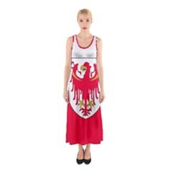 Flag of South Tyrol Sleeveless Maxi Dress