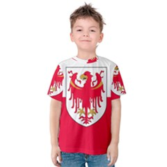Flag of South Tyrol Kids  Cotton Tee