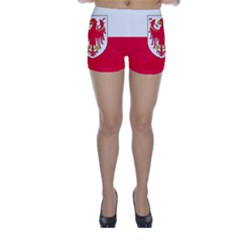 Flag of South Tyrol Skinny Shorts