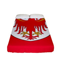 Flag of South Tyrol Fitted Sheet (Full/ Double Size)