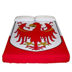 Flag of South Tyrol Fitted Sheet (King Size)