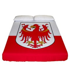Flag of South Tyrol Fitted Sheet (California King Size)