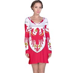 Flag of South Tyrol Long Sleeve Nightdress