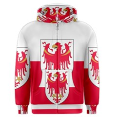 Flag of South Tyrol Men s Zipper Hoodie