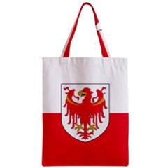 Flag of South Tyrol Zipper Classic Tote Bag