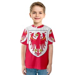 Flag of South Tyrol Kids  Sport Mesh Tee