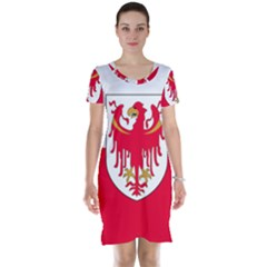 Flag of South Tyrol Short Sleeve Nightdress