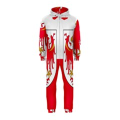 Flag of South Tyrol Hooded Jumpsuit (Kids)
