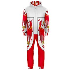 Flag of South Tyrol Hooded Jumpsuit (Men)