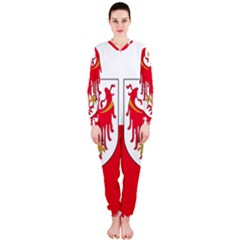 Flag of South Tyrol OnePiece Jumpsuit (Ladies)