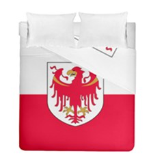 Flag of South Tyrol Duvet Cover Double Side (Full/ Double Size)
