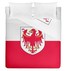 Flag of South Tyrol Duvet Cover Double Side (Queen Size)
