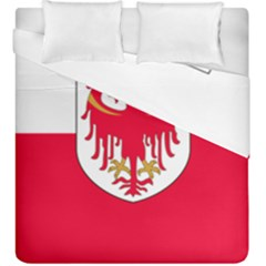 Flag of South Tyrol Duvet Cover Double Side (King Size)
