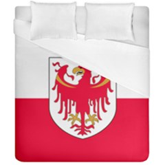Flag of South Tyrol Duvet Cover Double Side (California King Size)