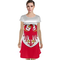 Flag of South Tyrol Cap Sleeve Nightdress