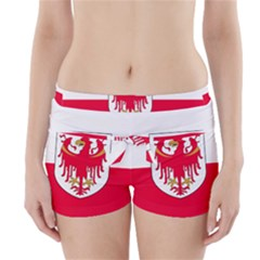 Flag of South Tyrol Boyleg Bikini Wrap Bottoms