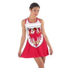 Flag of South Tyrol Cotton Racerback Dress