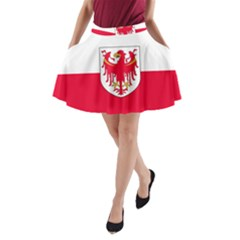Flag of South Tyrol A-Line Pocket Skirt