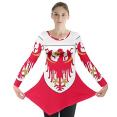 Flag of South Tyrol Long Sleeve Tunic