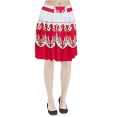 Flag of South Tyrol Pleated Skirt