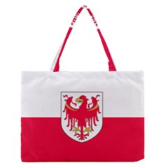 Flag of South Tyrol Medium Zipper Tote Bag