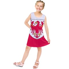 Flag of South Tyrol Kids  Tunic Dress
