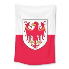 Flag of South Tyrol Small Tapestry
