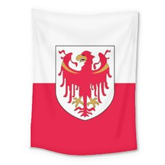 Flag of South Tyrol Medium Tapestry