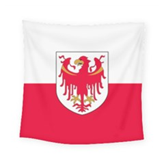 Flag of South Tyrol Square Tapestry (Small)