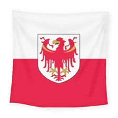 Flag Of South Tyrol Square Tapestry (large)