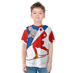 Lillehammer Coat of Arms  Kids  Cotton Tee