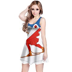Lillehammer Coat of Arms  Reversible Sleeveless Dress