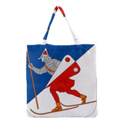 Lillehammer Coat of Arms  Grocery Tote Bag