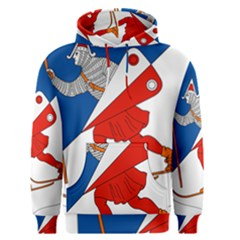 Lillehammer Coat of Arms  Men s Pullover Hoodie